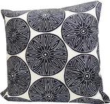 Kussani Cushion Cover Black Puff 50cm x 50cm K439