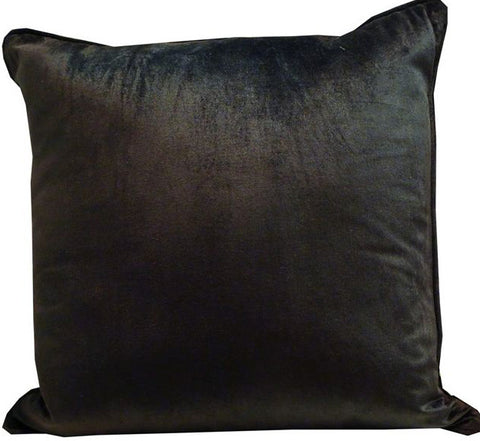 Kussani Cushion Cover Black Velvet 50cm x 50cm K395