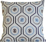 Kussani Cushion Cover Blue Barwon 45cm x 45cm K426
