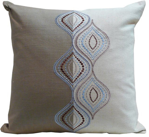 Kussani Cushion Cover Blue Ripple 50cm x 50cm K362