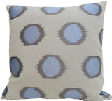 Kussani Cushion Cover Blue Splash 45cm x 45cm K430