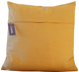 Kussani Cushion Cover Ochre Pleat 55cm x 55cm K411
