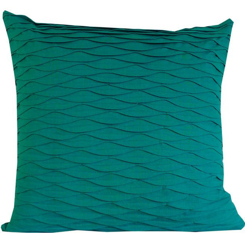 Kussani Cushion Cover Emerald Pleat 55cm x 55cm K419