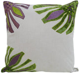 Kussani Cushion Lime Dahlia 45cm x 45cm K429