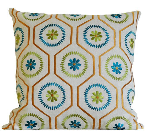 Kussani Cushion Cover Lime Barwon 45cm x 45cm K425