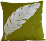 Kussani Cushion Lime Feather 45cm x 45cm K406