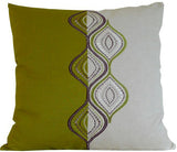 Kussani Cushion Lime Ripple 50cm x 50cm K401