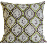 Kussani Cushion Lime Wave 45cm x 45cm K400