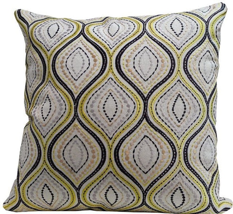 Kussani Cushion Cover Mustard Wave 45cm x 45cm K357
