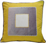 Kussani Cushion Cover Mustard Window 45cm x 45cm K432