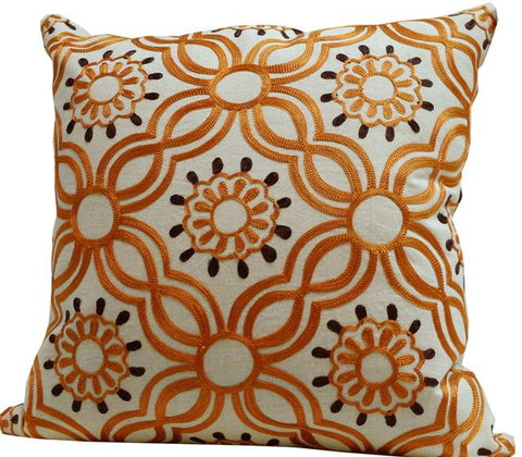 Kussani Cushion Cover Orange Link 45cm x 45cm K384