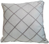 Kussani Cushion Cover White Deco 50cm x 50cm K442
