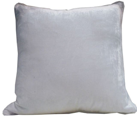 Kussani Cushion Cover White Velvet 50cm x 50cm K398