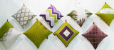 Kussani Cushion Cover Lime Feather 45cm x 45cm K406