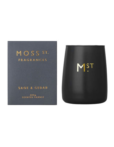 Moss St. Candle Sage and Cedar 320g