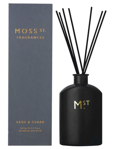 Moss St. Diffuser Sage and Cedar 275ml