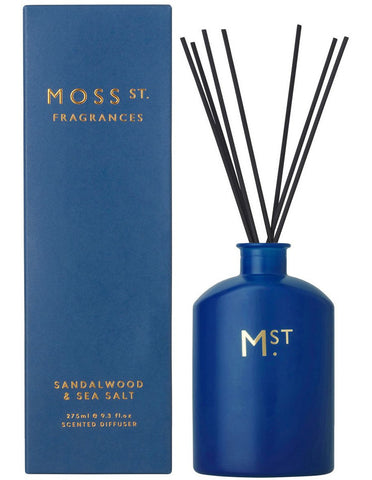 Moss St. Diffuser Sandalwood and Sea Salt 275ml