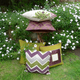 Kussani Cushion Cover Lime Dahlia 45cm x 45cm K429