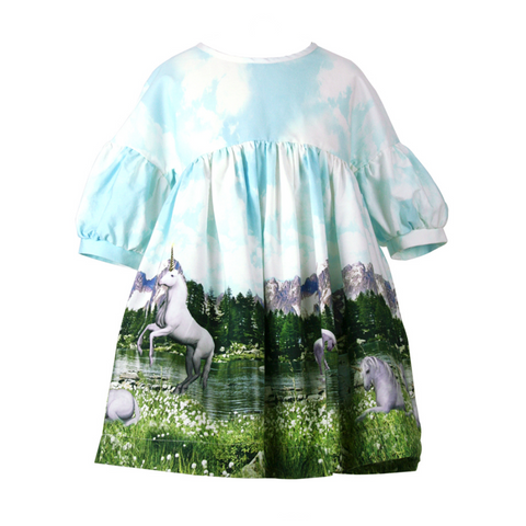 Isla Smock Top - Unicorns ARE Real!