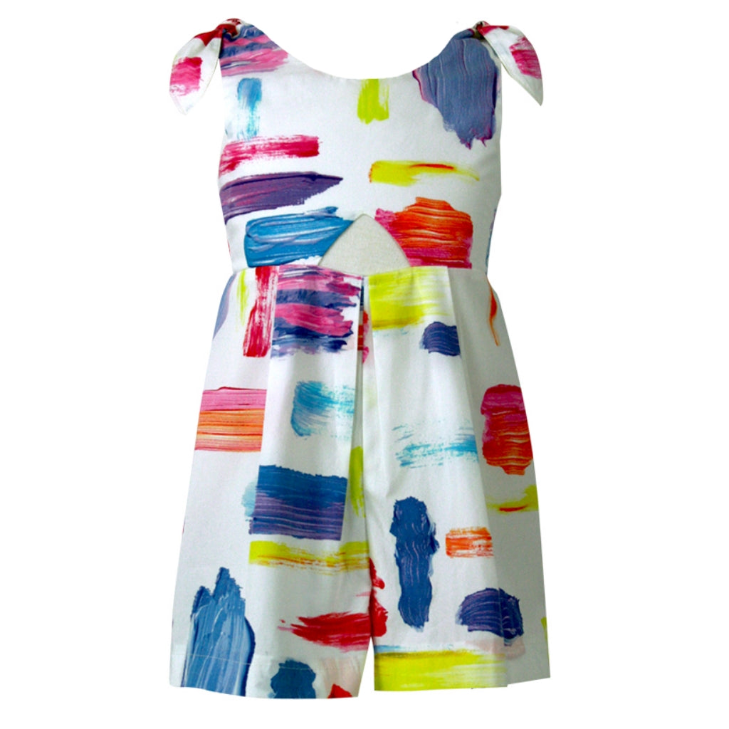 Ruby Playsuit - Playful Paint