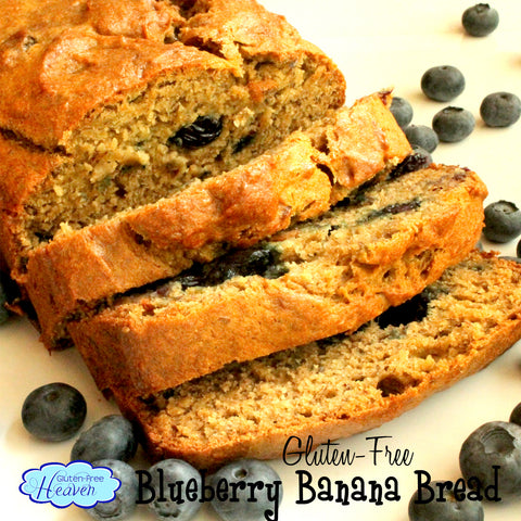 Blueberry Banana Bread Gluten-Free Heaven