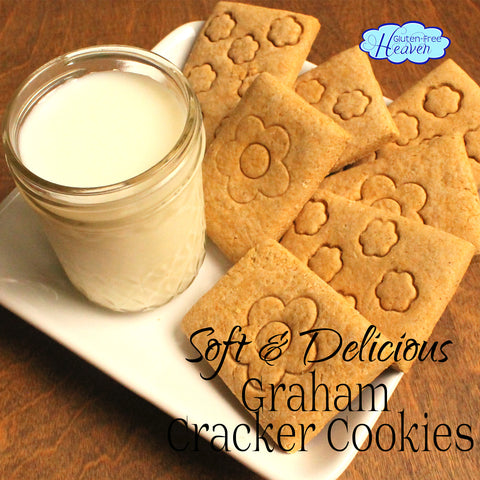 Soft & Delicious Graham Cracker Cookies Gluten Free: Gluten Free Heaven
