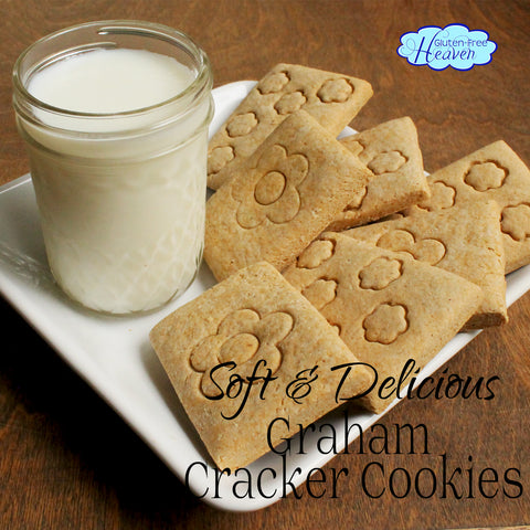 Soft & Delicious Gluten Free Graham Cracker Cookies: Gluten Free Heaven