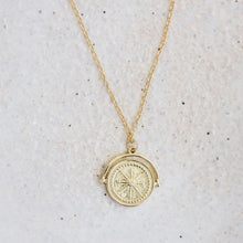 Load image into Gallery viewer, Golden Compass Necklace