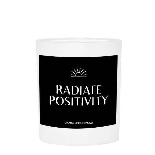 Radiate Positivity - Candle