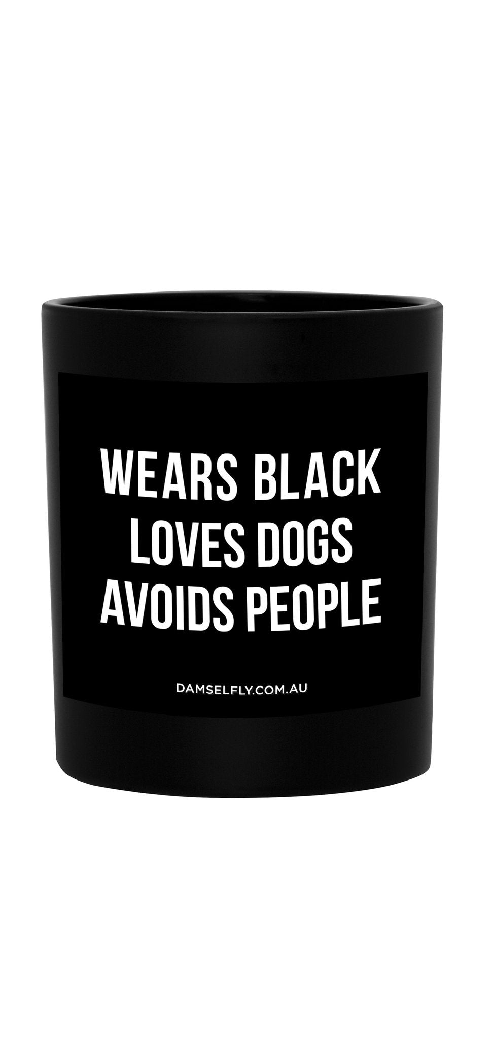 Wears Black - Candle