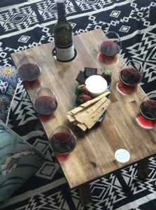 Folding Wine Table - 6 Glass - PICK UP ONLY