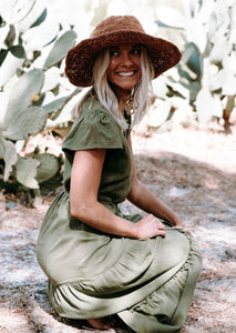 Polly Short Brim Hemp Hat