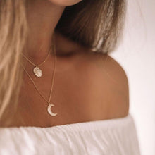 Load image into Gallery viewer, Crescent Moon Necklace $79.00