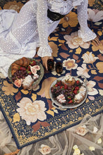 Load image into Gallery viewer, Grandé Fleur Picnic Rug - Nightshade