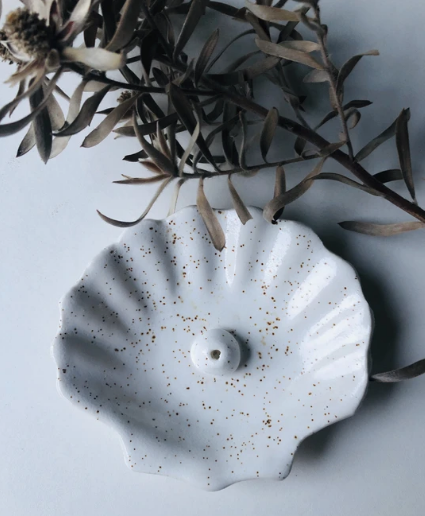 Shell Incense Holder