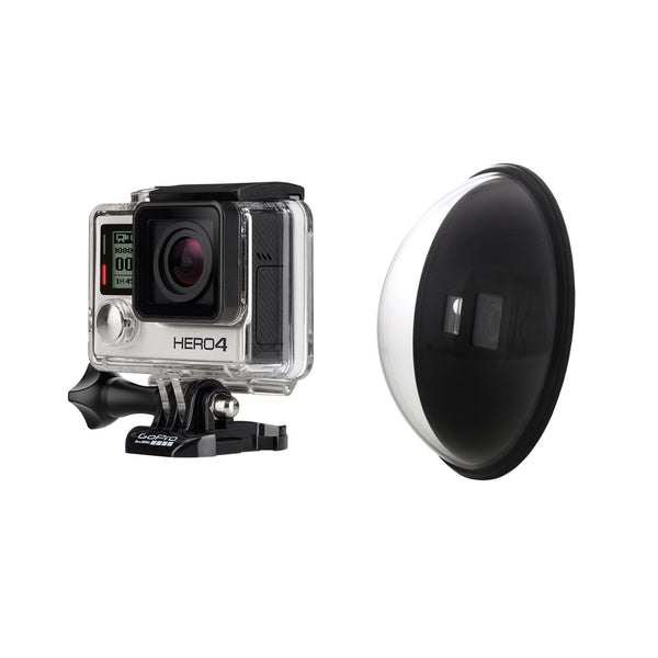 GoPro HERO4 Silver HIRE - KNEKT Dome Port Package HIRE