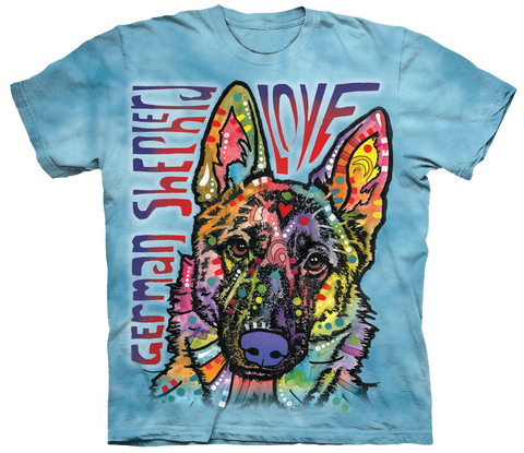 German Shepherd Love Tshirt