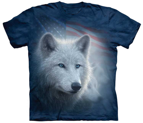 American White Wolf Shirt (FREE SHIPPING!)