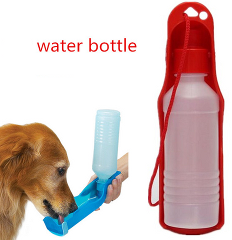 Portable Dog Water Bowl Bottle