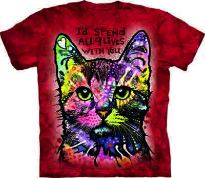 9 Lives Cat Shirt - FREE Shipping!