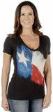 Texas Flag Ladies Top