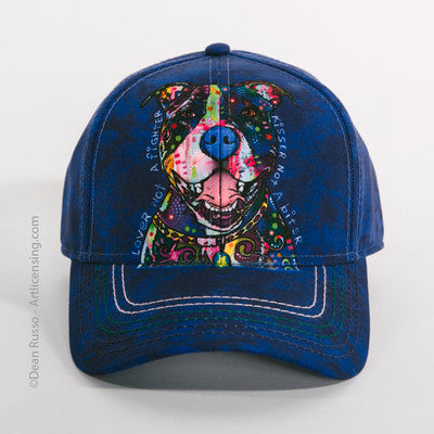 Lover Not a Fighter Pit Bull Hat