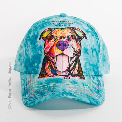 Pit bull Smile Happiness Hat