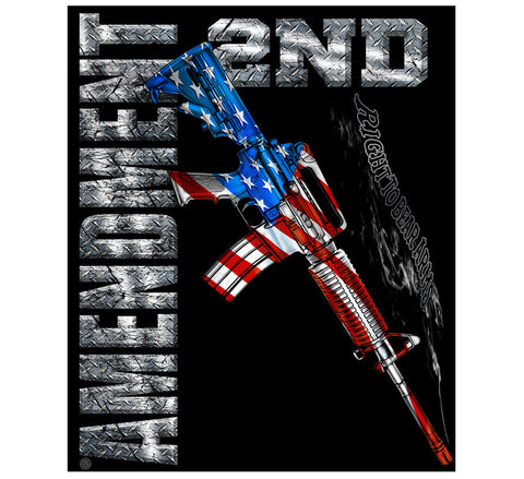 2nd Amendment Blanket (Free Shipping)