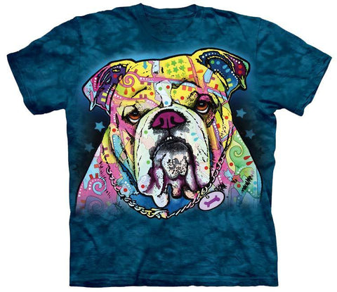 Bulldog Shirt - Bulldog Colorful (clearance) Size Small