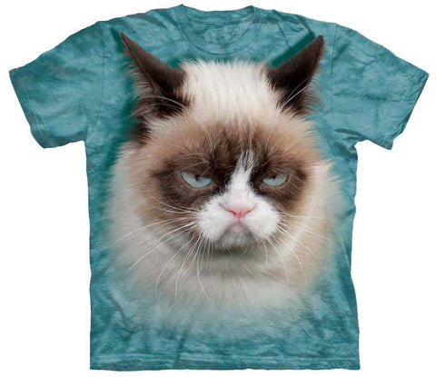 Cat Shirt - Cat Grumpy One
