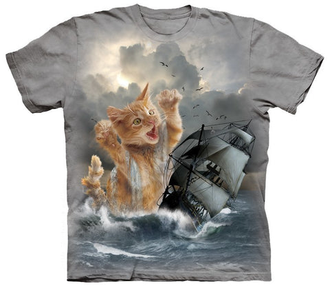 Cat Shirt - Kitten Of The Sea