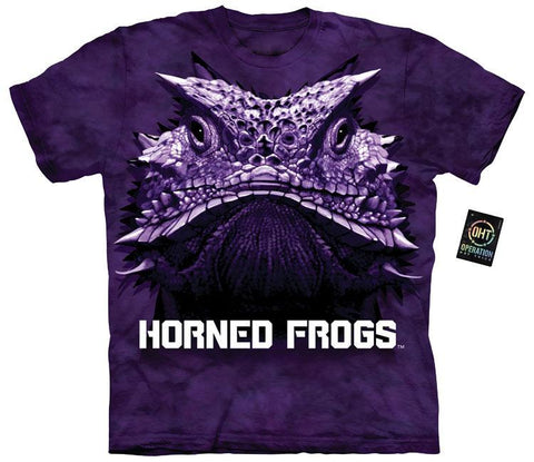 Collegiate Shirt - Big Face Horn Frog