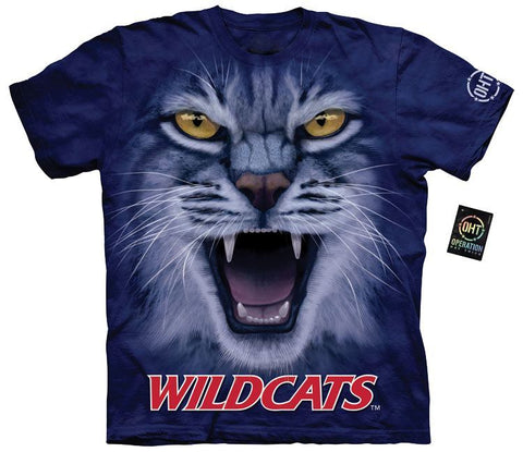Collegiate Shirt - Big Face Wildcats