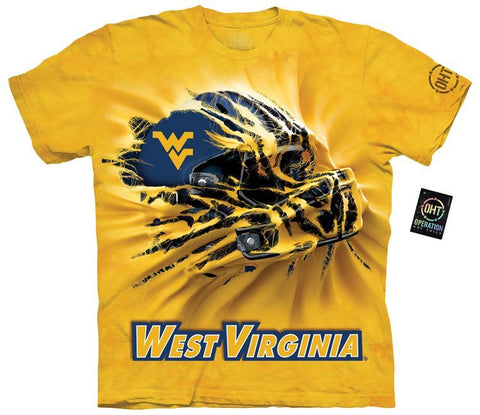Collegiate Shirt - West Virginia Breakthru Helmet